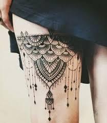25 beautiful thigh piece tattoos ideas on pinterest thigh piece