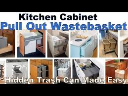 How To Transform Kitchen Cabinets How To Convert Any Kitchen Cabinet Into Pull Out Waste Containers