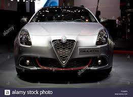 hatchback cars 2016 alfa romeo giulietta hatchback car at the geneva motor show 2016