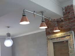 industrial pipe light fixture folke industrial pipe ceiling l