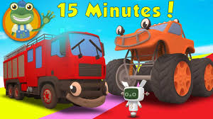 monster trucks videos for kids numbers crushing s monster truck videos for toddler teaching and