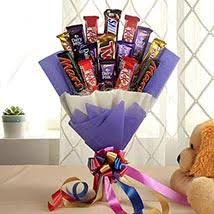 Candy Bouquet Delivery Chocolates Bouquet Online Chocolate Candy Bouquet Ferns N Petals