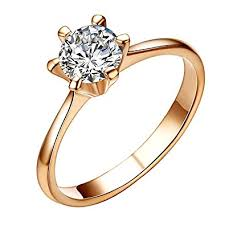 simple engagement ring yoursfs 0 5ct cubit zirconia rings for women simple