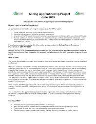 apprenticeship essay example apprentice plumber cover letter