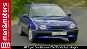 world auto toyota 1999 toyota corolla review the world u0027s best selling car youtube