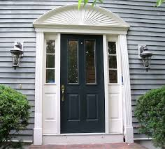 Exterior Door Pediment And Pilasters Repairing A Rotten Door Entry Thisiscarpentry