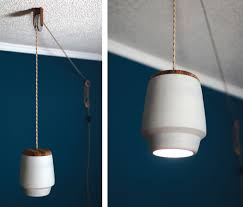 pulley pendant light fixtures polly a pulley pendant light design milk