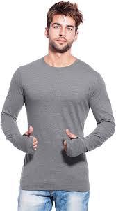 maniac solid s neck grey t shirt buy grey maniac