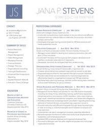 Single Page Resume Template One Page Resume Template Free One Page Resume Template