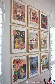 cavallini frames diy framed calendar prints