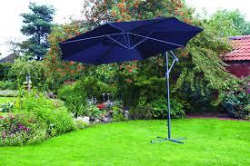 Ebay Patio Umbrellas by 3m Garden Banana Parasol Sun Shade Patio Hanging Cantilever