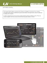 ui12mixer remote control digital mixer users manual manual harman