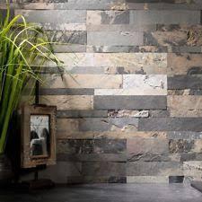 Sample Rustic Copper Linear Natural by Floor U0026 Wall Tiles In Material Slate Ebay