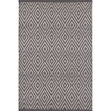 Indoor Outdoor Rug Graphite Ivory Indoor Outdoor Rug Dash Albert