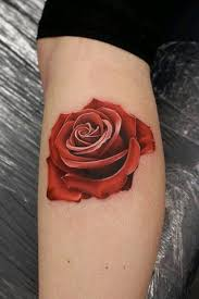 small flower tattoos on calf design idea for and
