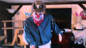 animated rotating rodeo clown halloween prop from halloween