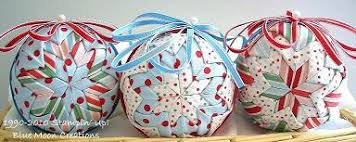 fabric ornaments sting with blue moon creations