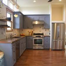 Purple Kitchens That Dared To Dream  Look We Love Painted - Painting kitchen cabinets gray