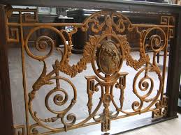 balkon gitter geländer mit medaillon französisches balkon gitter antik replik