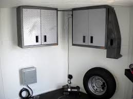V Nose Enclosed Trailer Cabinets by 2010 Freedom Trailers 24 U0027 V Nose Enclosed Car Hauler 5500