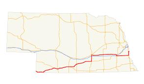 Lincoln Ne Map U S Route 34 In Nebraska Wikipedia