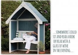 bus stop shelter enclosed garden arch garden pinterest
