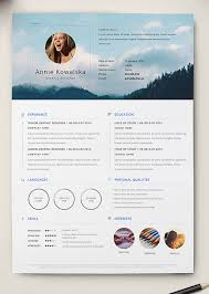 Free Indesign Resume Template 10 Best Free Resume Cv Templates In Ai Indesign Word U0026 Psd