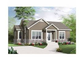 eplans new american house plan two bedroom american home 975