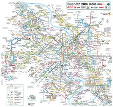 Map Of Cologne Germany by Cologne Transport Map