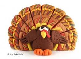 how to make a turkey out of a pine cone make a thanksgiving turkey out of polymer clay artswestchester