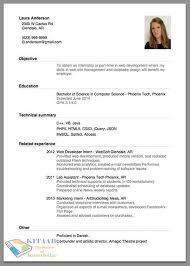 Create A Resume For Free Online by How To Write A Good Resume Examples