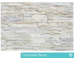 white brick wall mural your decal shop nz designer wall art white brick wall mural
