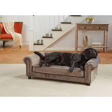 Beige Tufted Sofa by Enchanted Home Pet Manchester Velvet Tufted Sofa Bed Grey Sam U0027s
