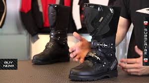 boots motorcycle riding sidi adventure gore tex boots from motorcycle superstore com youtube