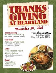 thanksgiving translation thanksgiving 2016 heartland brewery
