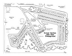 Michigan Campgrounds Map by Section Lake Veteran U0027s Park Mecosta County Parks Michigan