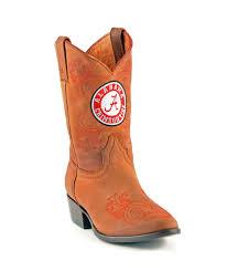 john deere western boots boys kids cowboy round toe walnut jd2113