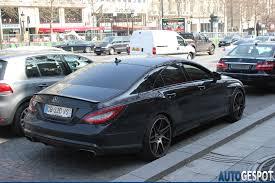 mercedes cls 63 amg black psg s menez drives black mercedes cls 63 amg autoevolution