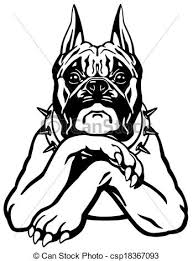 boxer dog black and white boxer illustrations and clip art 390 904 boxer royalty free
