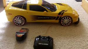 remote corvette 2 5 bright corvette rc car review and running test