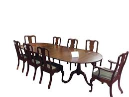 sold u201d vintage henkel harris solid cherry table and four boards