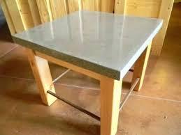 concrete tables for sale concrete end table 2 inch thick concrete counter concrete table