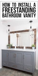 how to install bathroom cabinet how to install bathroom vanity bathroom view install bathroom