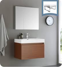 Teak Bathroom Vanity by Fresca Fvn8007tk Mezzo 30
