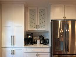 white leaded glass kitchen cabinets bespoke leaded cabinet glass alternative stained glass llc fl