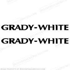 grady white decals