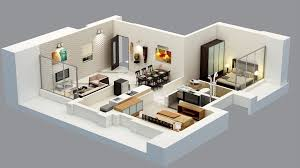 Flat Interior Design 2 Bhk Flat Interior Design In India Emejing 2 Bhk Flat Interior