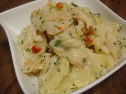 cuisine morue salade de pommes de terre à la morue astuces et recettes de cuisine