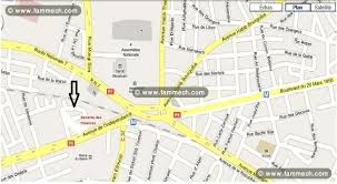 bureau d emploi immobilier tunisie terrain à vendre le bardo terrain 300m au bardo
