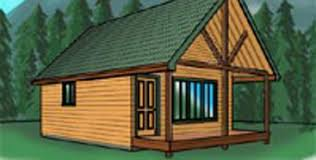 free cabin plans one bedroom cabin with loft woodworking project free wood